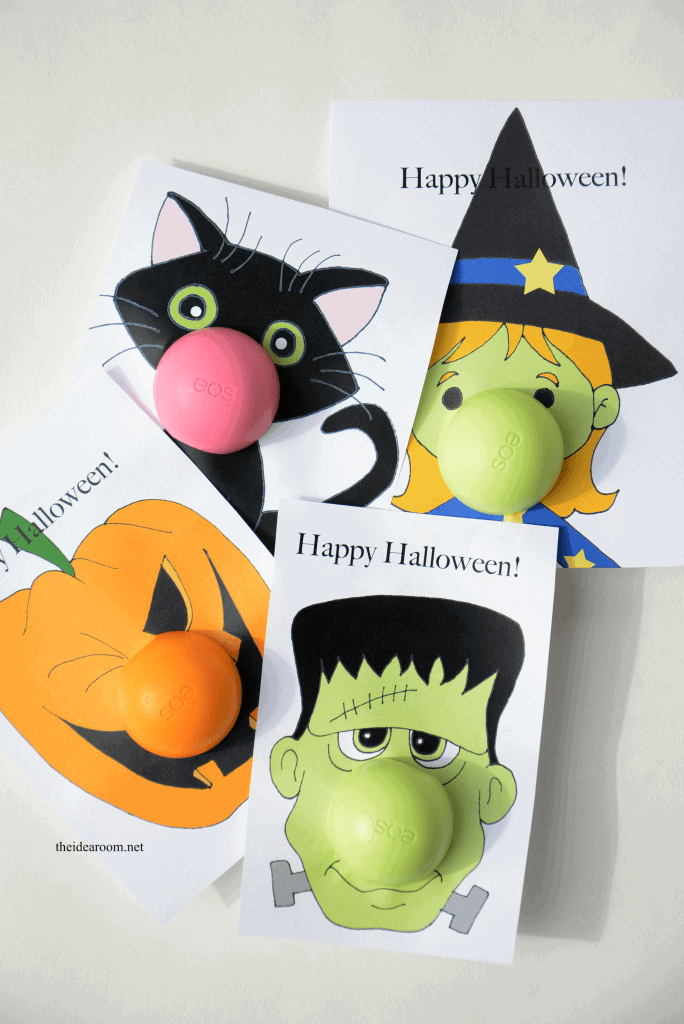 EOS Free Halloween Printable Gifts from The Idea Room