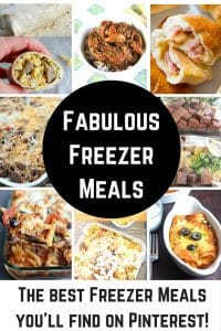 Freezer Meals to the Rescue