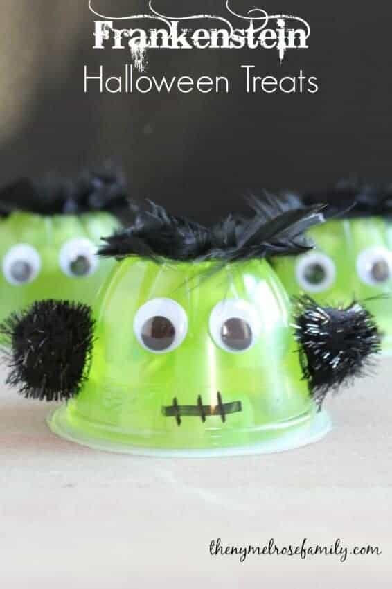 Frankenstein Halloween Treats from The Melrose Family