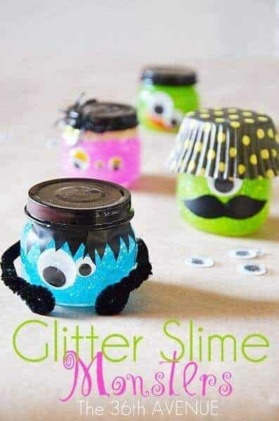 How to Make Glitter Slime Monsters by the 36th Avenue