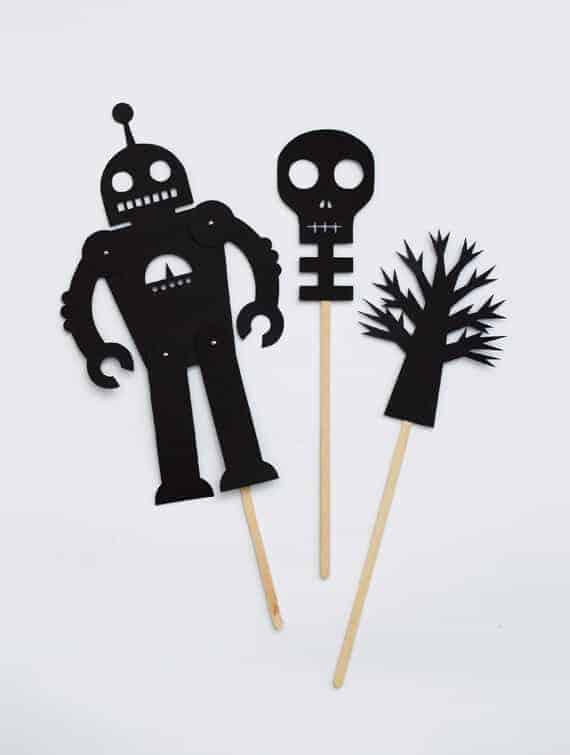 Halloween Shadow Puppets by Minieco