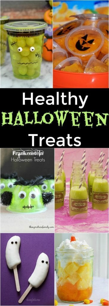 Healthy Halloween Treats - great options for fun and healthy treats