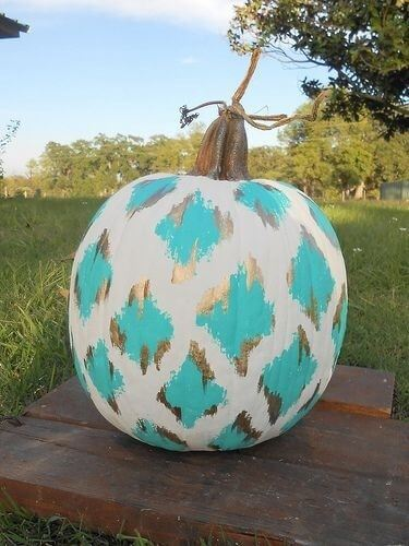Ikat Pumpkins by Sorority Sugar