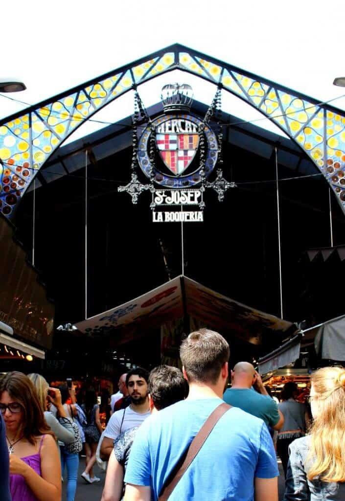 Mercat La Boqueria in Barcelona