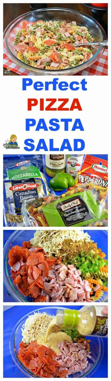 How to make a pizza pasta salad