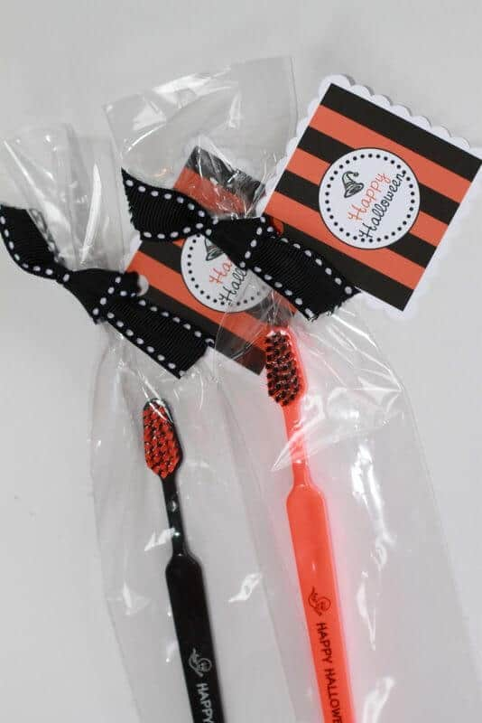Personalized Halloween Toothbrushes by Tess Oral Health
