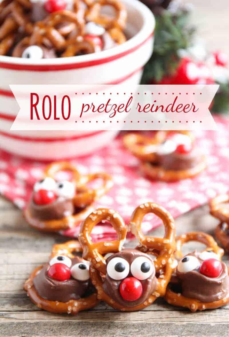 Rolo Pretzel Reindeer | I Heart Naptime