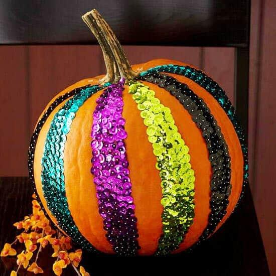 Sequin Pumpkin by BHG