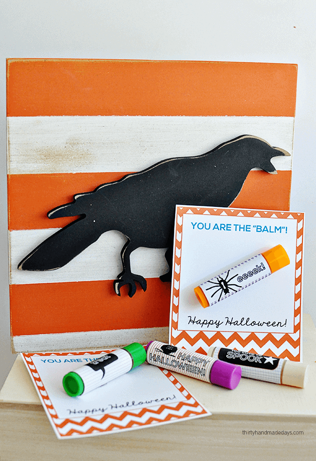 Your the Balm Free Halloween Printables by Thirty Handmade Days