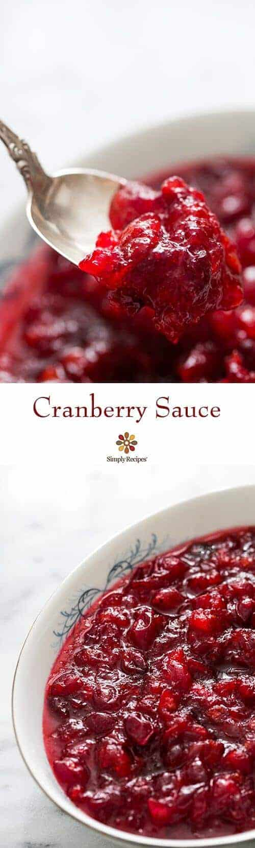 Cranberry Sauce by Simply Recipes