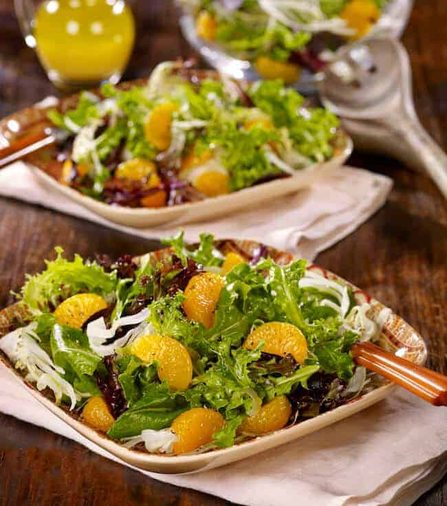 Fennel mandarin orange salad