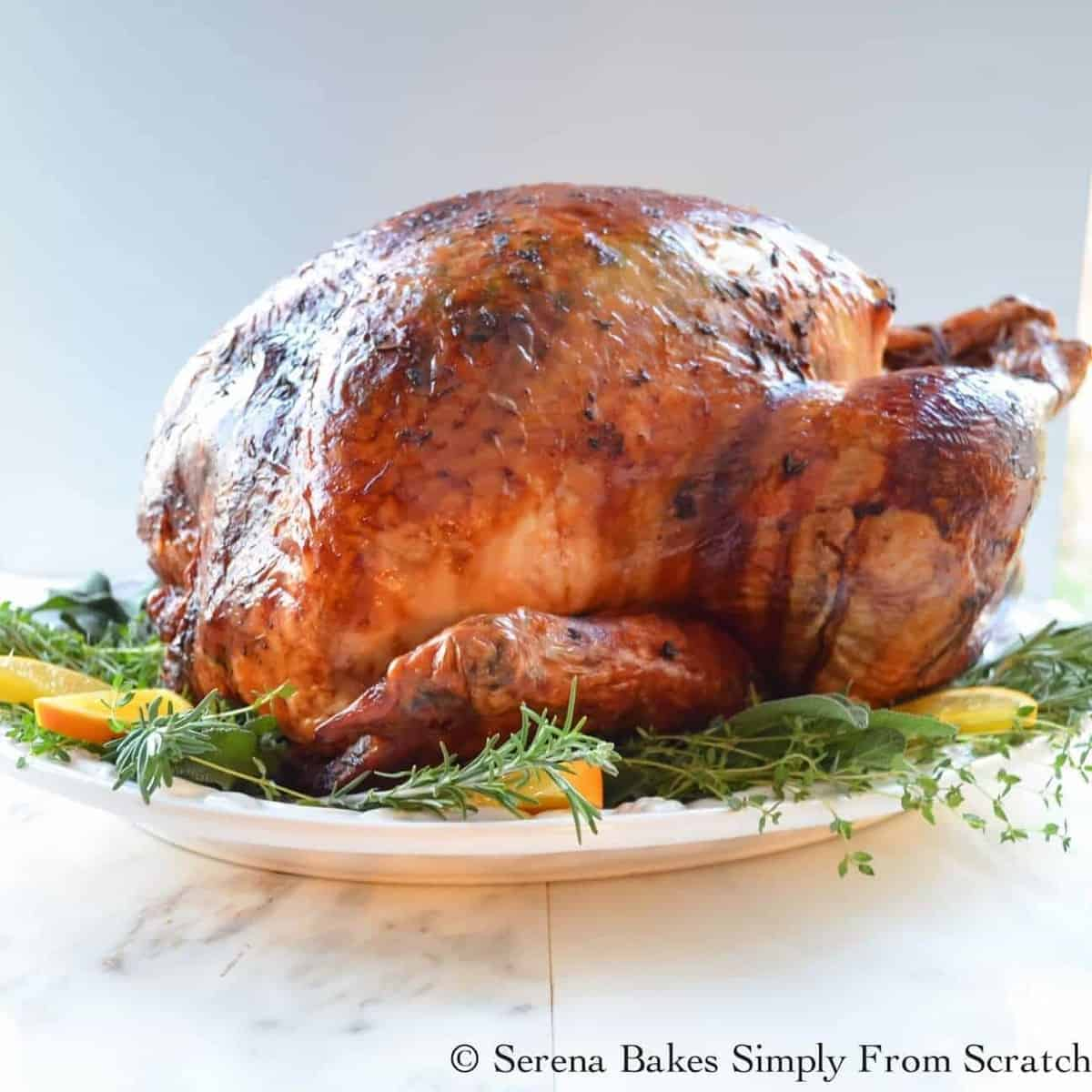 Super Moist Turkey Baked in Cheesecloth by Serena Bakes Simply From Scratch