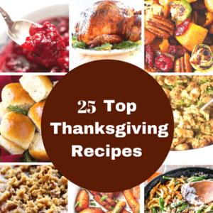 Thanksgiving Recipes square image
