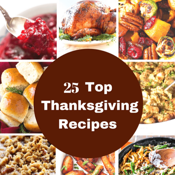 25 Top Thanksgiving Recipes