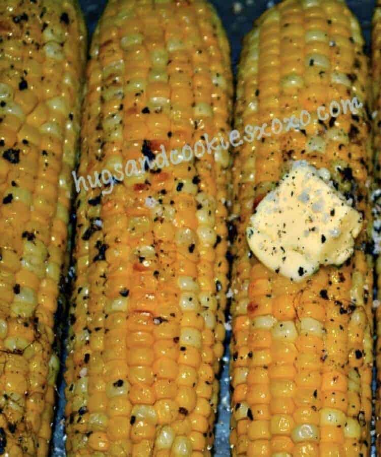 The Most Amazing Oven Roasted Corn by Hugs and Kisses XOXO