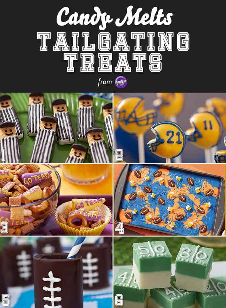 Tailgating treats - great easy and delicious desserts for a football party