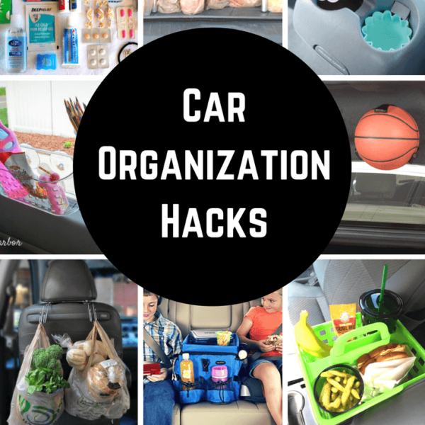 The best car organization hacks on Pinterest!