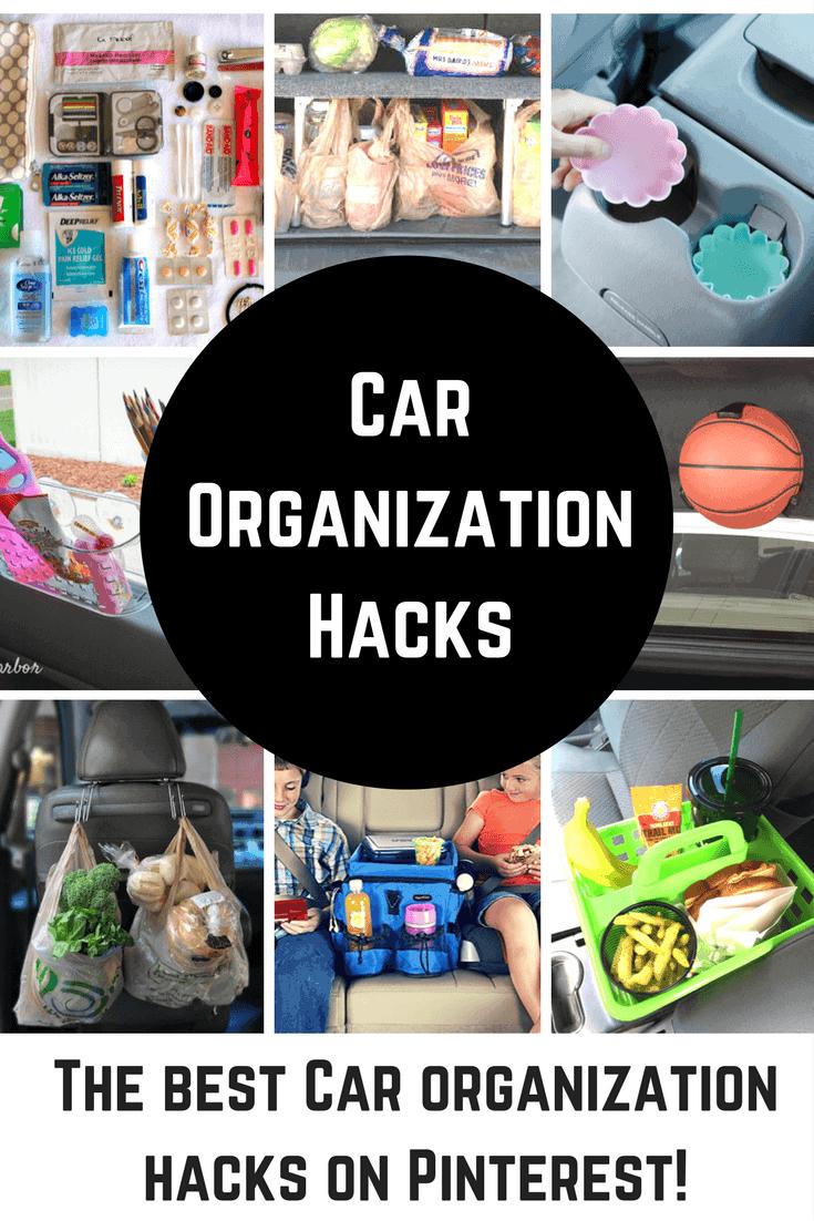 The best car organization hacks on Pinterest!