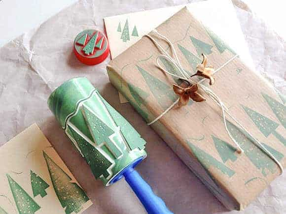 DIY Roller Printing by Handmade Charlotte