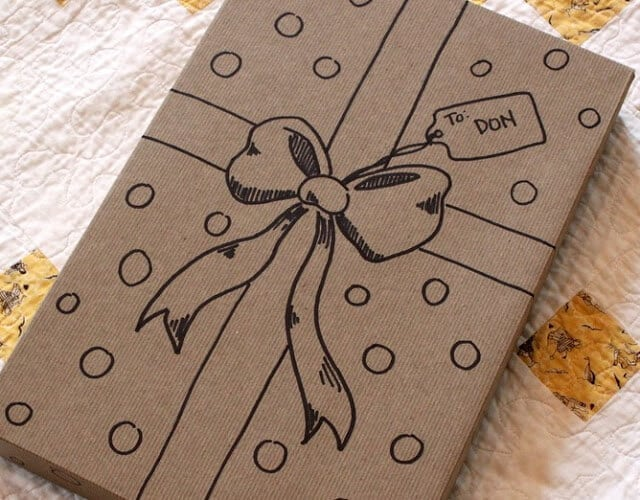 Drawn Gift Boxes by Home is Right