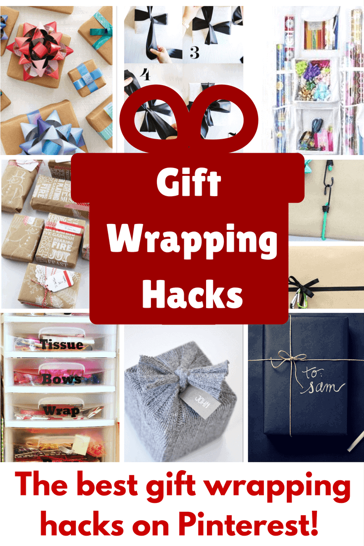 Gift Wrapping Hacks that will totally save your sanity this holiday season!