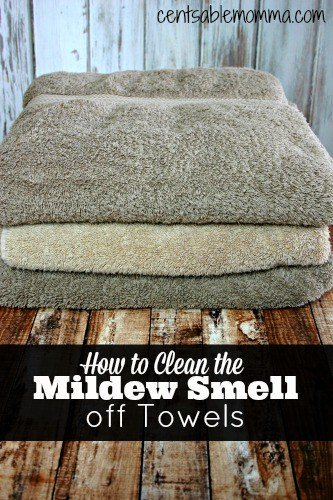 How to Clean the Mildew Scent out of Towels by Centsable Momma
