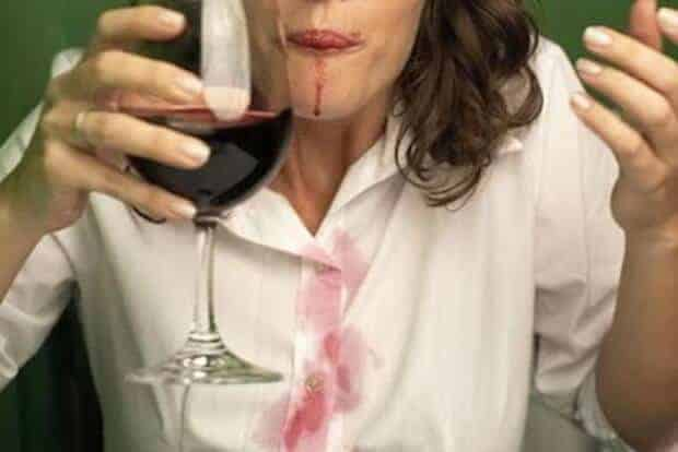How to remove red wine stains by Her Campus