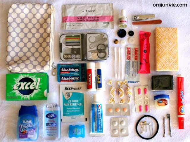 Mom's Emergency Kit by Organizing Junkie