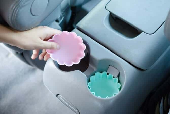 Silicone Cupcake Car Cup Holder Liners by The Krazy Coupon Lady