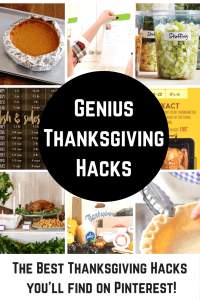 The Best Thanksgiving Hacks Ever