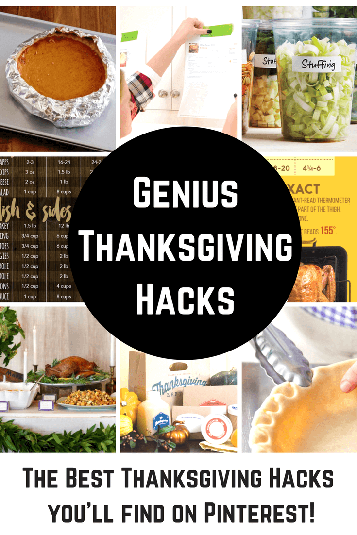 The Best Thanksgiving Hacks on PInterest