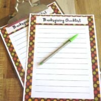 5 Tips To Create A Peaceful Thanksgiving Celebration + A Free Printable Checklist