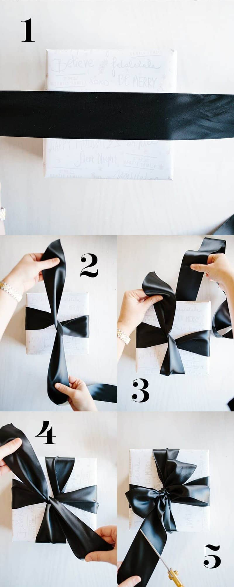 Learn How to Tie a Tiffany Bow by Handmade Mood