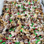 Chex Mix Christmas Crack - Sweet and Salty with a hint of peppermint. The perfect DIY Holiday Gift