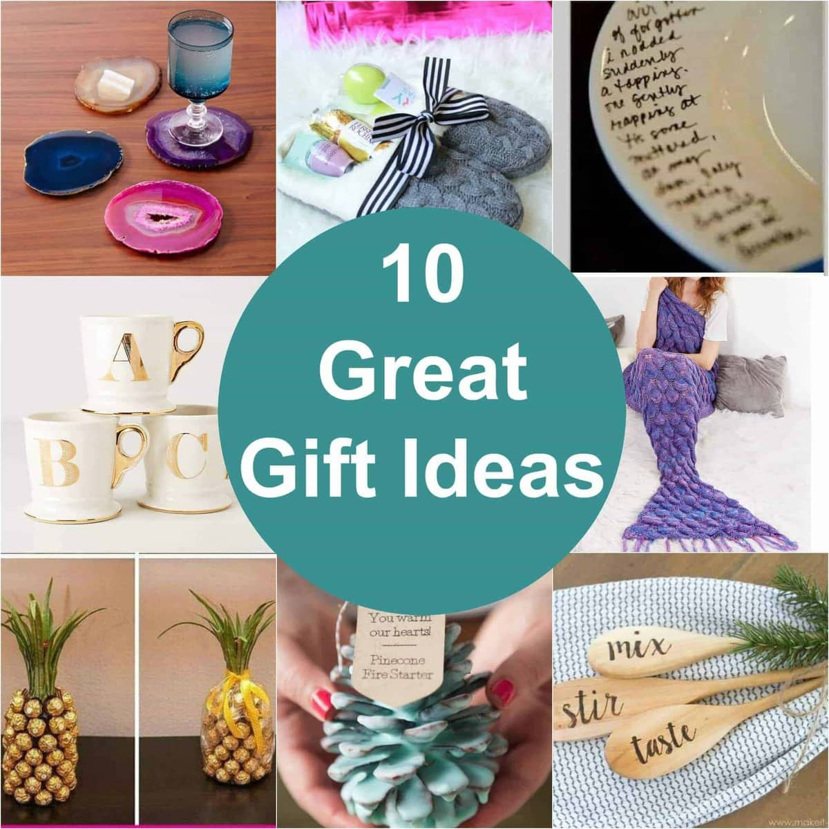 Unique Gift Ideas: Gift Ideas For Everyone On Your List