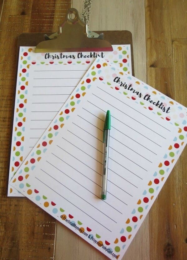 5 Tips To Create A Fun And Stress-free Holiday Season + A Free Printable Checklist