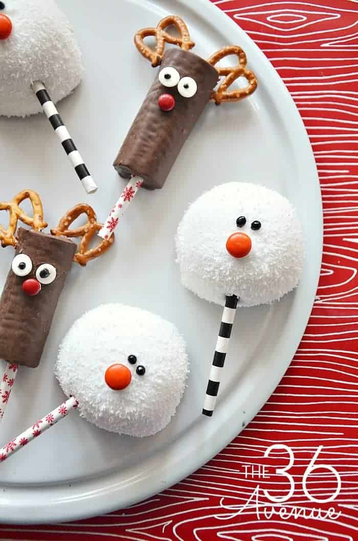 The most creative holiday treats on pinterest princess for Some good christmas treats to make