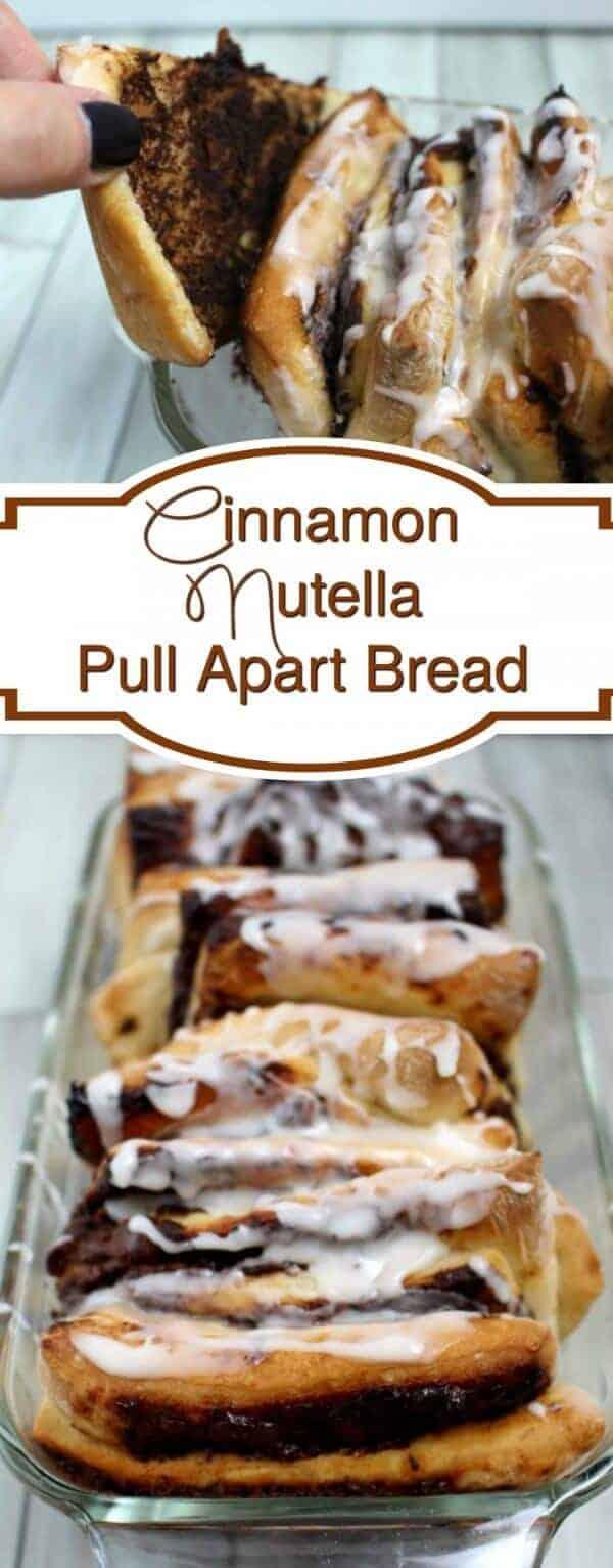 Nutella Banana Pull-Apart Bread Recipe — Dishmaps