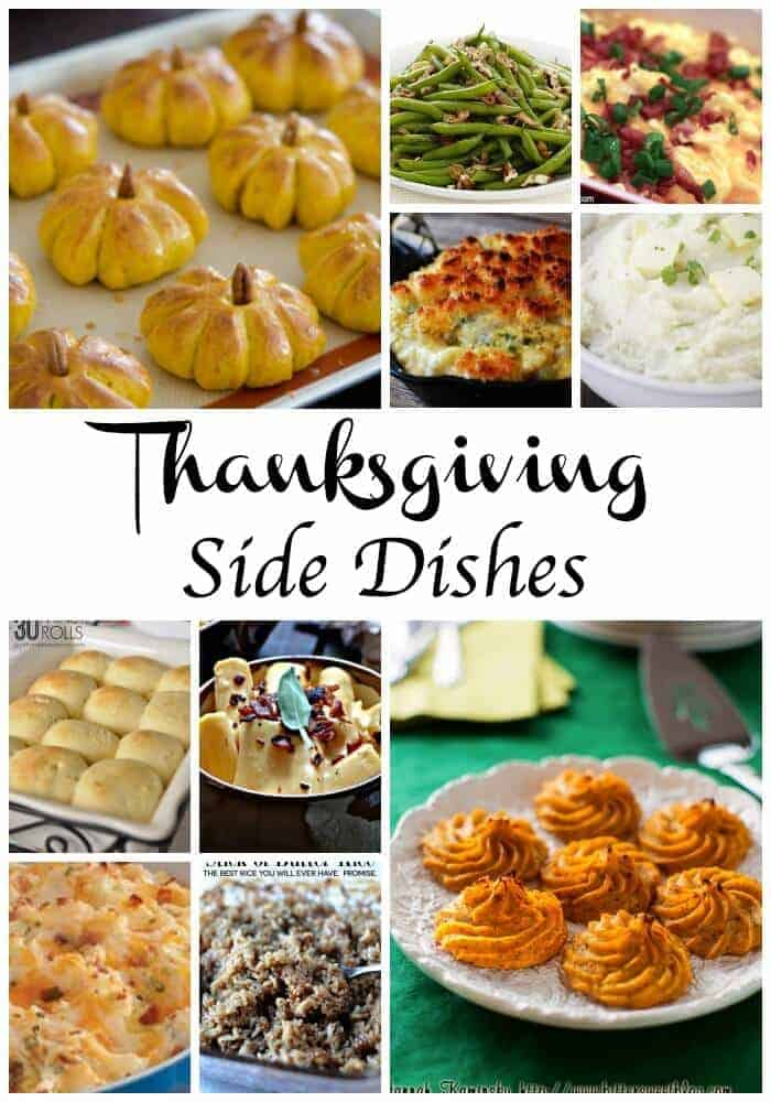 Thanksgiving side dish ideas