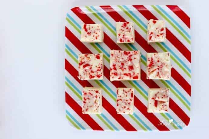 the easiest peppermint fudge