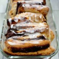 nutella cinnamon pull apart bread easy and delicious dessert