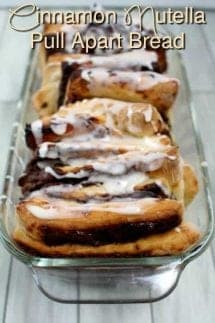 nutella cinnamon pull apart bread easy and delicious dessert