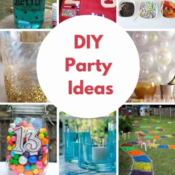 Creating your own birthday parties at home has never been easier. These DIY Birthday Party Ideas are awesome!