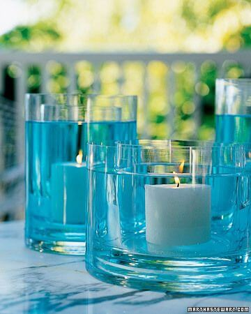 Cool DIY Candle Centerpieces from Martha Stewart