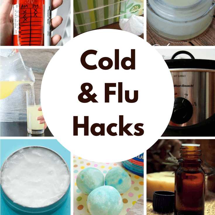 Cold and Flu Hacks for Winter featured on Princess Pinky Girl