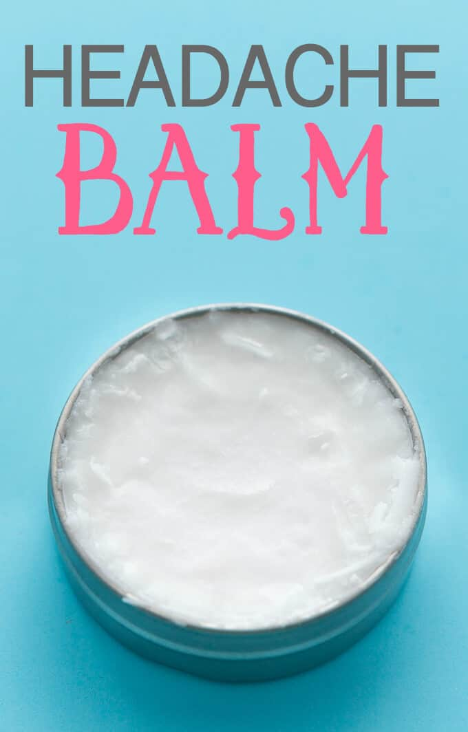 DIY Headache Balm by Simply Stacie | Cold and Flu Hacks for Winter