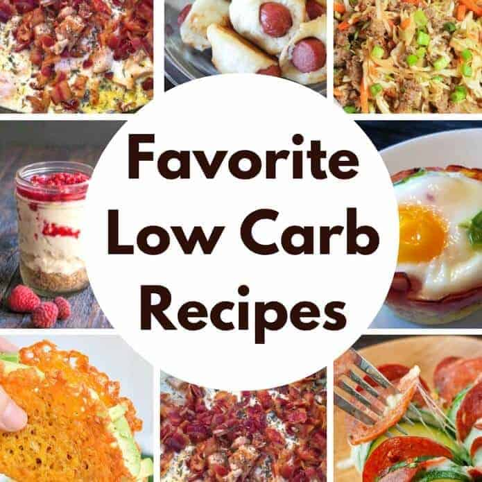Favorite Low Carb Recipes featured on Princess Pinky Girl