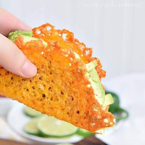 Low Carb Cheese Taco Shells by Home Made Interest