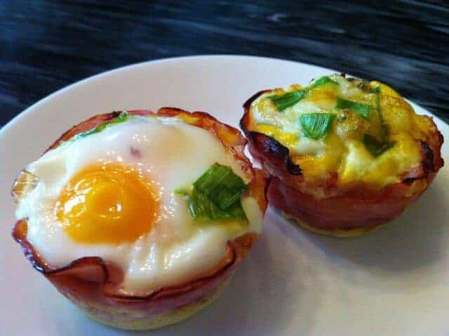 Paleo Breakfast Baked Eggs in Ham Cups by Oh Snap Let's Eat | Favorite Low Carb Recipes