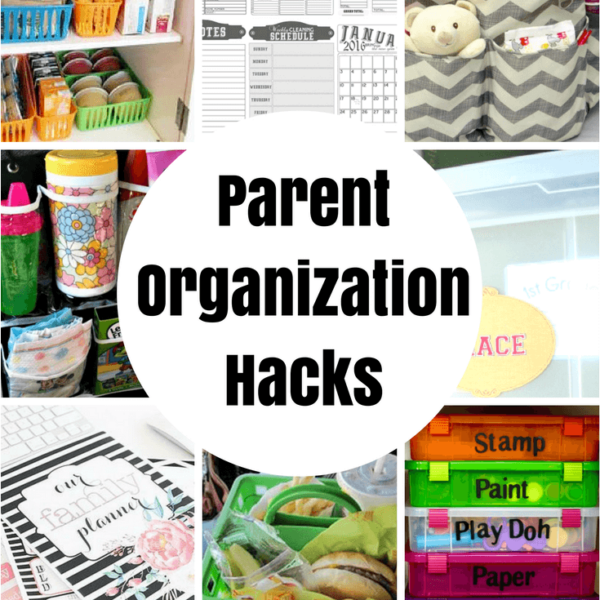 Parent Organization Hacks featured on Princess Pinky GIrl